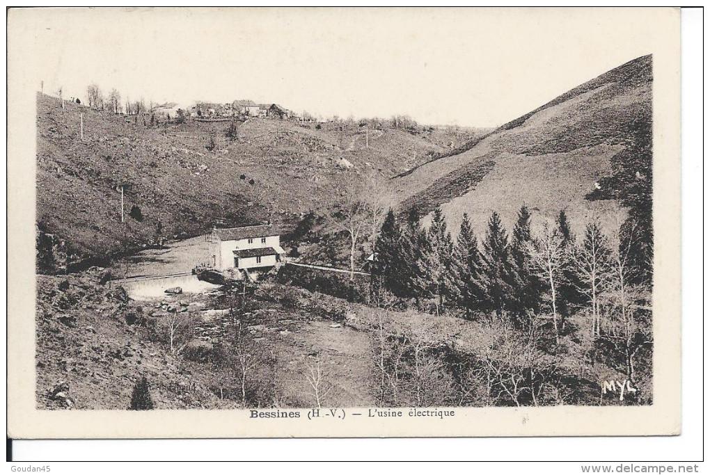 Bessines (H.-V.) - L'usine électrique - Bessines Sur Gartempe