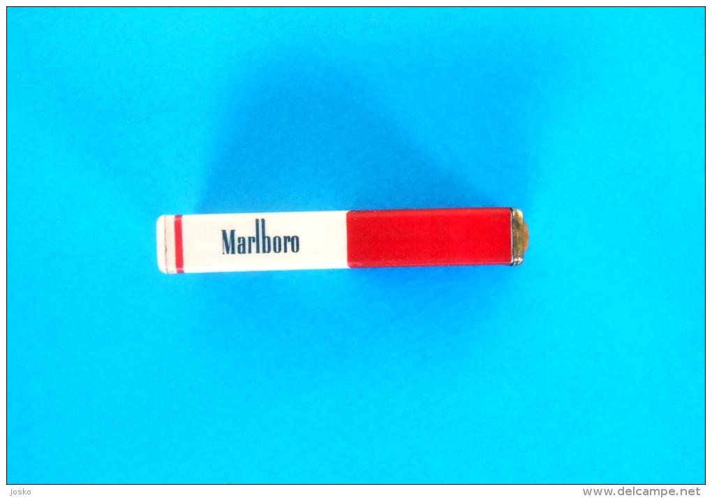 MARLBORO - Old Gas Lighter * Briquet Gaz Feuerzeug Accendino Encendedor Isqueiro Lichter - Lighters