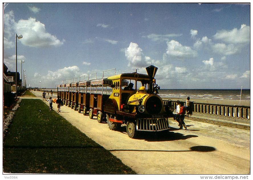 CABOURG: Le Petit Train En Bord De Mer - Cabourg