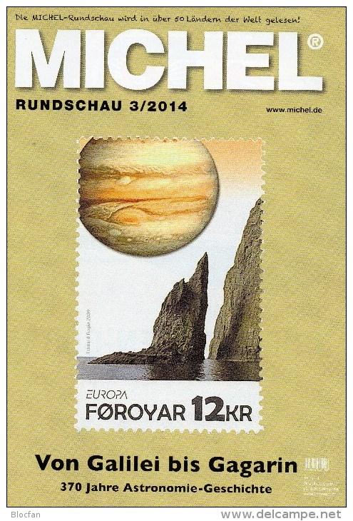 Briefmarken Rundschau MICHEL 3/2014 Neu 6€ New Stamps Of The World Catalogue And Magacine Of Germany ISBN4 194371 105009 - Tarjetas Telefónicas
