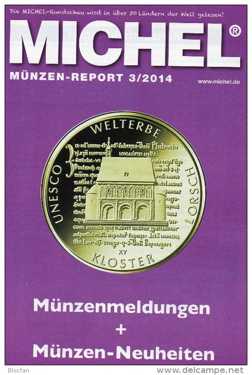 Briefmarken Rundschau MICHEL 3/2014 Neu 6€ New Stamps Of The World Catalogue And Magacine Of Germany ISBN4 194371 105009 - Libros & Cds