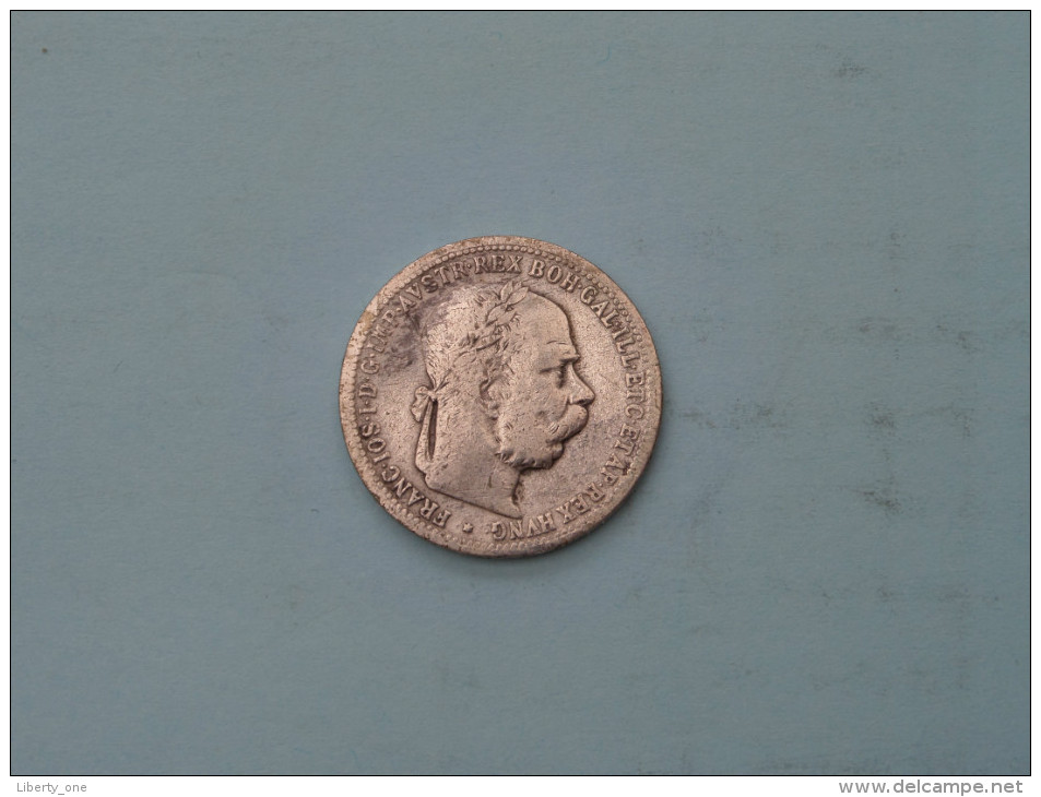 1895 - 1 Corona - KM 2804 ( Uncleaned - Details Zie Foto´s ) ! - Oesterreich