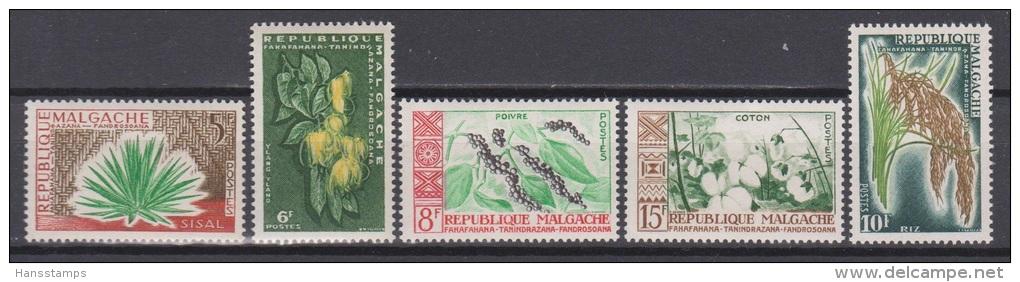 Madagascar, Malgache, Malagasy, 1960, Plants, MNH, *** - Végétaux