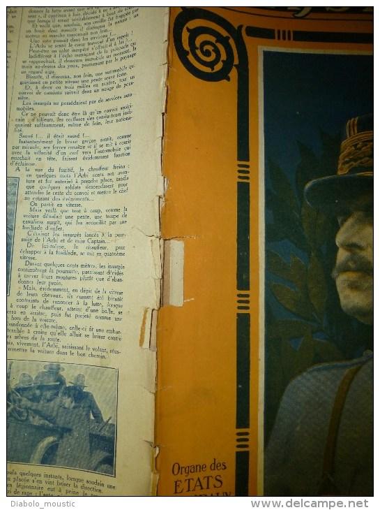 1918 LPDF: Arrestation CAILLAUX; La Pharmacie De L'armée ;HELSINGFORS (Finlande);PADOUE Bombardé; Les CHIENS-INFIRMIERS - Revues & Journaux