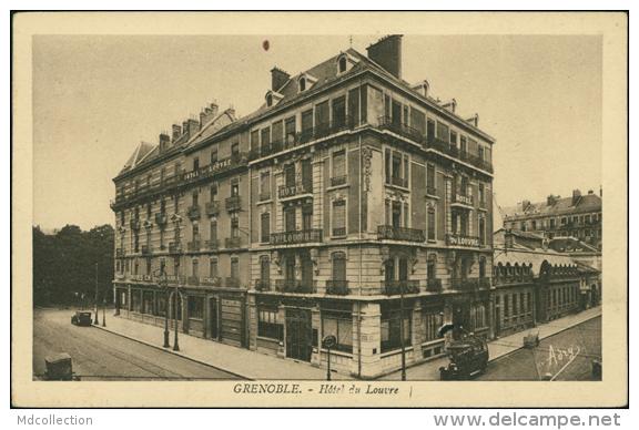38 GRENOBLE / Hôtel Du Louvre / - Grenoble