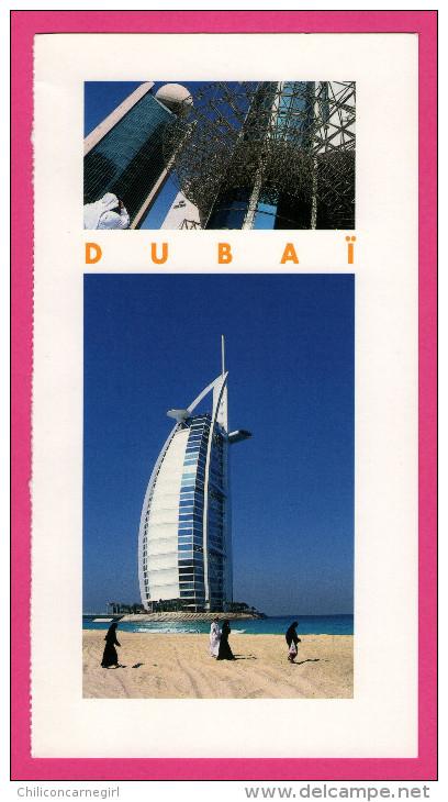 6 Cartes Panoramiques -  Dubaï - Oman - Belles Maisons - Fort De Sohar .... - Oman