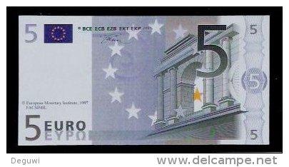 "Polymer-Test Note ""EMI 1997 FACSIMIL"" 5 EURO, Euro Size, Beids. Druck, RRR, UNC - Autres"