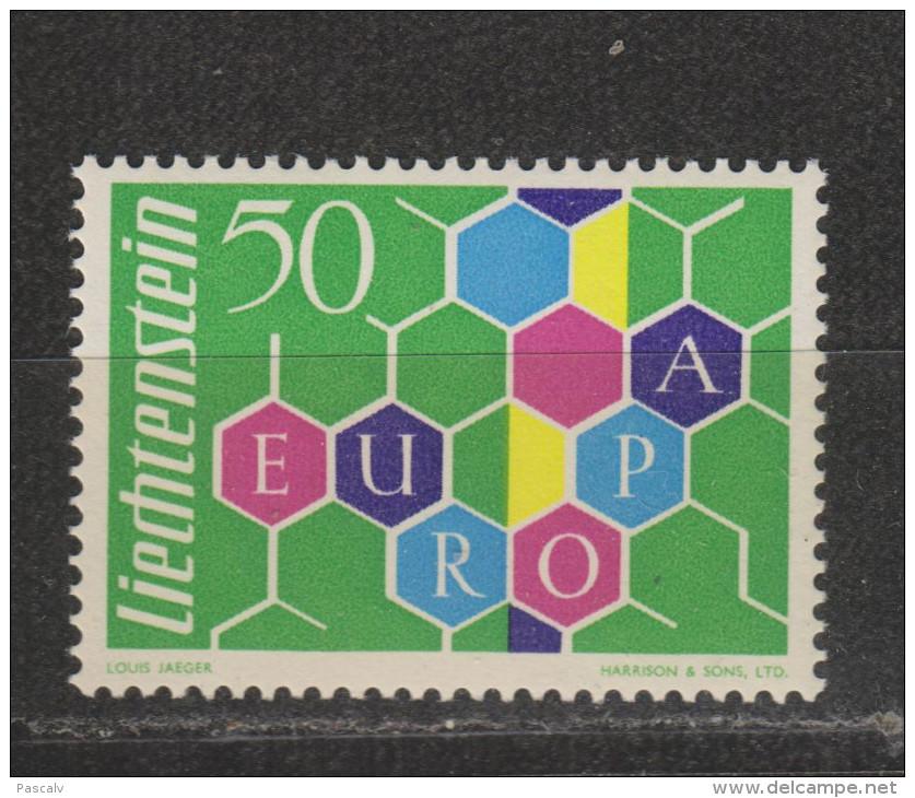Yvert 355 ** Neuf Sans Charnière MNH Europa - Liechtenstein