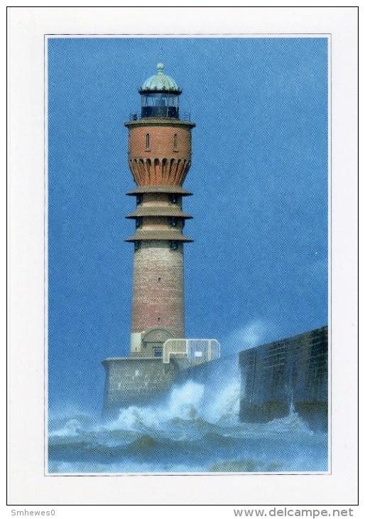 Postcard - Dunkerque Jetty Lighthouse, France. BP17 - Lighthouses