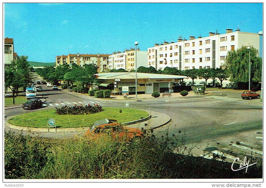 ALES 1998 CENTRE COMMERCIAL CLAVIERES CARTE EN TRES BON ETAT - Alès