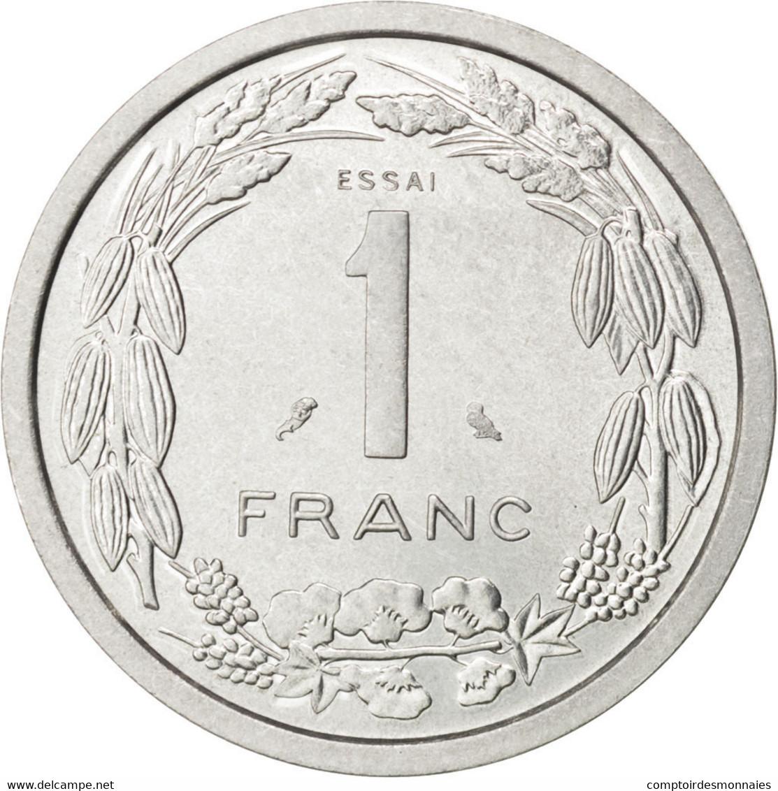 Afrique Equatoriale Française, Cameroun, 1 Franc 1969 Essai, KM E7 - Cameroun