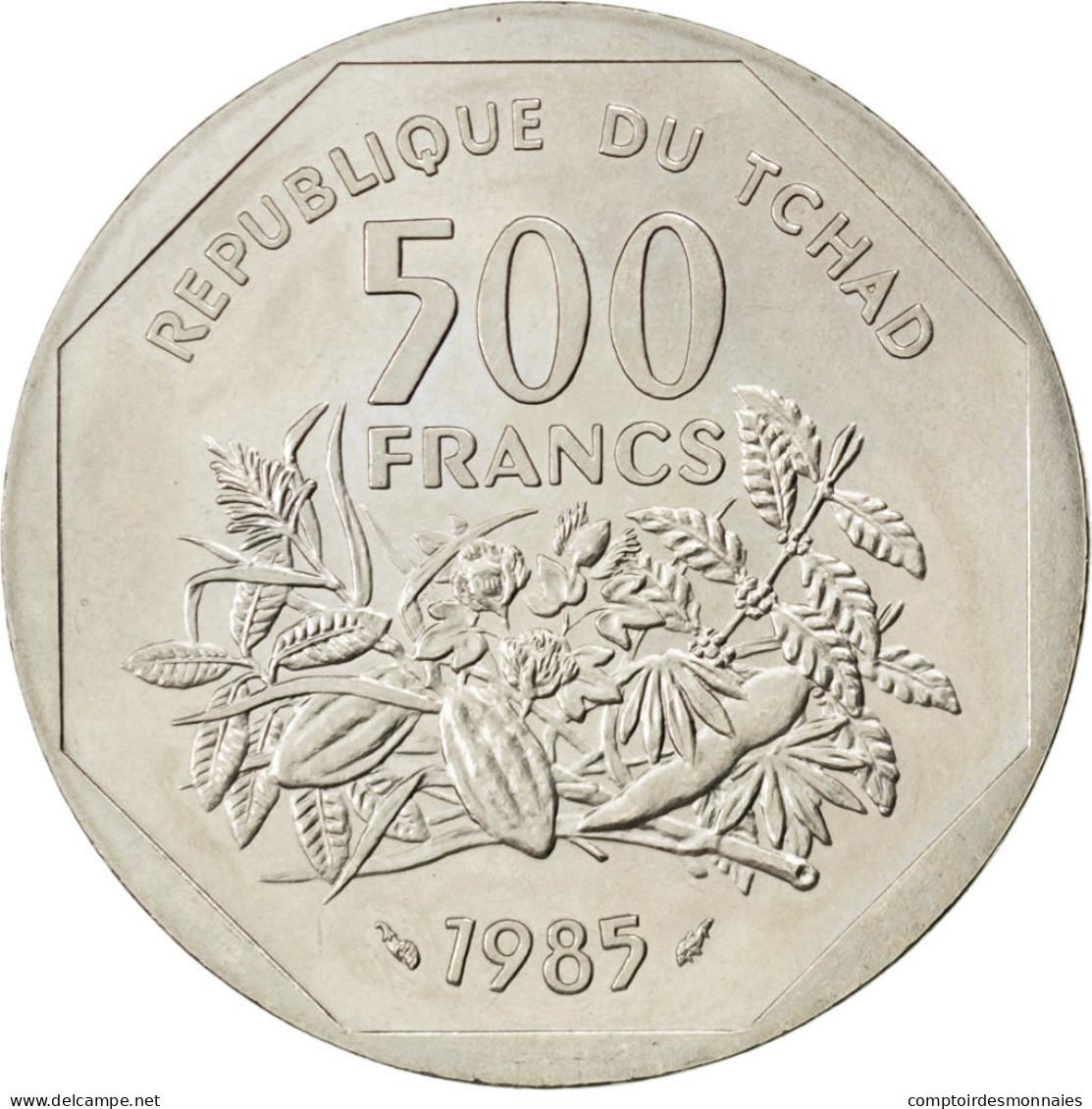 [#83885] Tchad, République, 500 Francs 1985 Essai, KM E6 - Tchad