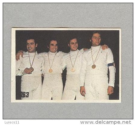 RIGOLI,MONTANO,MAFFEI...SCHERMA...L'ESCRIME..FENCING..SPADE..SCIABOLA..SPORT - Fencing