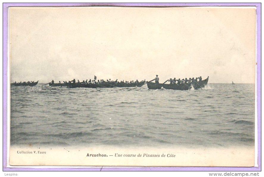 33 - ARCACHON -- Une Course De Pinasses De Côte - Arcachon