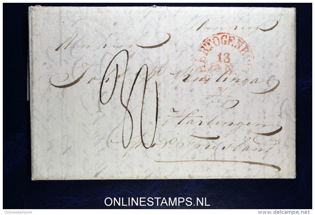 Nederland: Complete Brief Van 's-Hertogenbosch Naar Harlingen - Niederlande