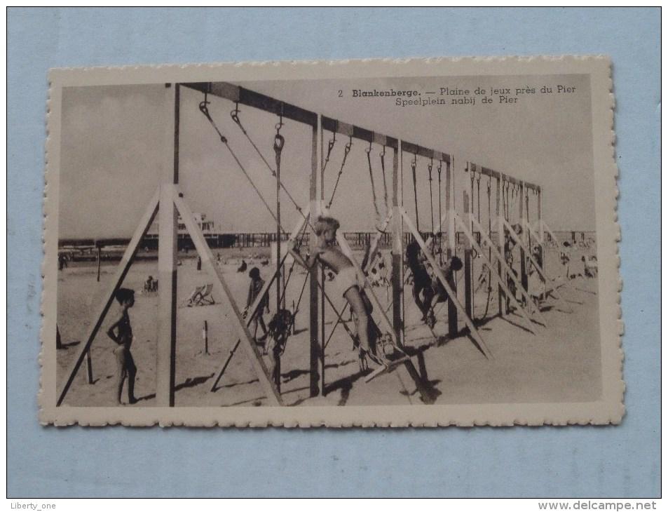Plaine De Jeux Près Du Pier / Speelplein Nabij De Pier ( 2 ) Anno 19?? ( Zie Foto Voor Details ) - Maasmechelen