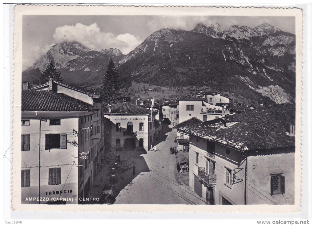 CARD  AMPEZZO  ALBERGO GRIMANI (UDINE )-FG-V-2 -  0882-22109 - Udine