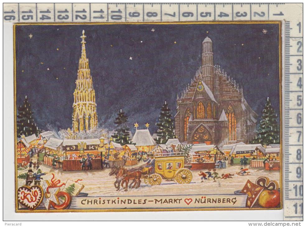 Nürnberg Christkindles Markt  Christkind Sonderstempel Weihnachtsmarkt - Nuernberg