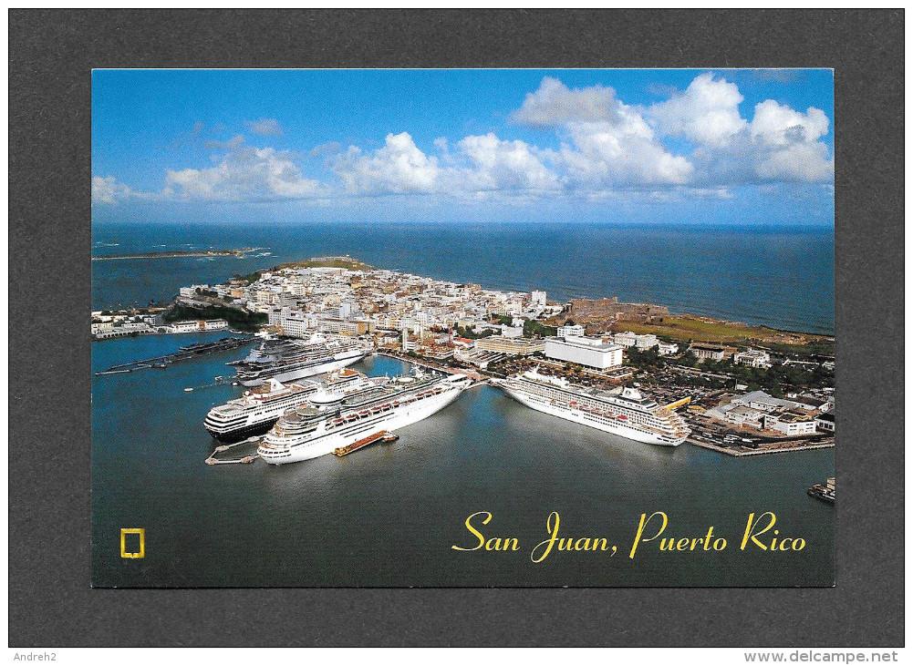 PUERTO RICO - SAN JUAN - CRUISE SHIPS - BATEAUX DE CRUISIÈRE - DIA DE CRUCEROS - PLEASURE CRUISES DAY - ASTRAL GRAPHICS - Puerto Rico