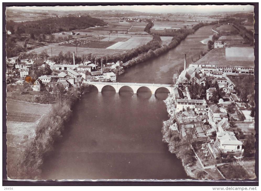 CPSM   De  COUZE Et SAINT-FRONT    Dordogne      Le Pont Sur La Dordogne         Num 7  Le II 7 1967 - France