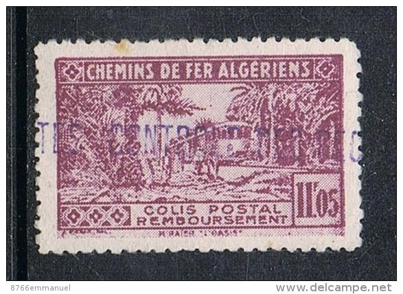 ALGERIE COLIS POSTAL N°93 N* - Algérie (1924-1962)