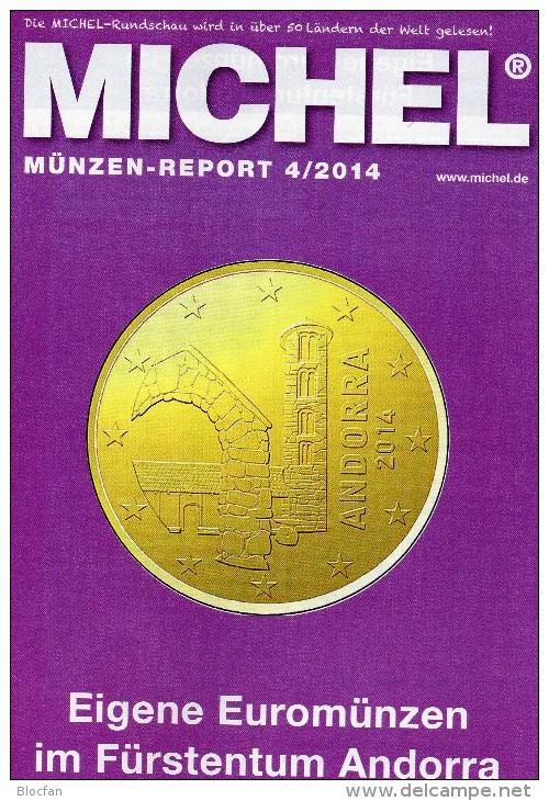 MICHEL Briefmarken Rundschau 4/2014 Sowie 4/2014 Plus Neu 11€ New Stamps Of The World Catalogue And Magacine Of Germany - Deutsch