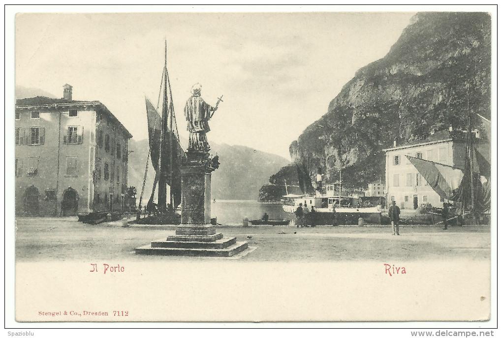 """7112 - Riva Del Garda, (Trento) - """"Il Porto"""". - Trento"""