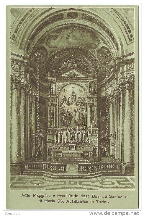"Torino, ""Basilica - Santuario Di Maria SS.Ausiliatrice"" - Churches"