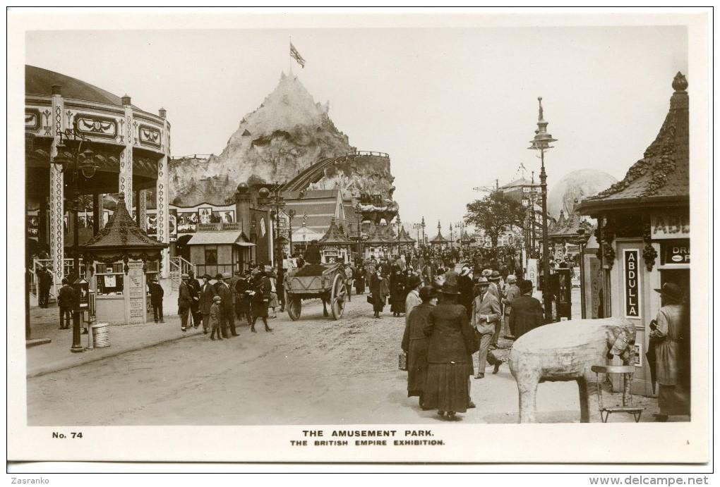 Amusement Park - British Empire Exhibition - 1924 - Exhibitions