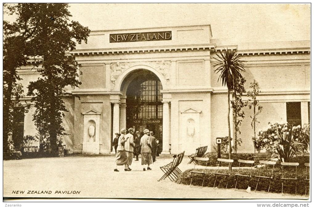 New Zealand Pavilion - British Empire Exhibition - 1924 - Exhibitions