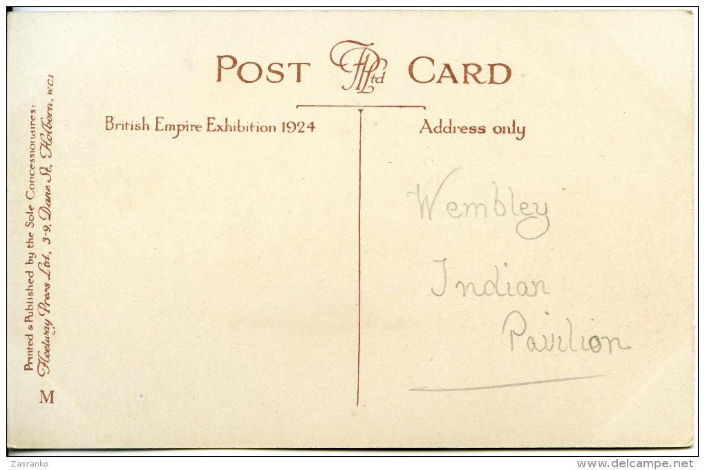 Indian Pavilion - British Empire Exhibition - 1924 - Exhibitions
