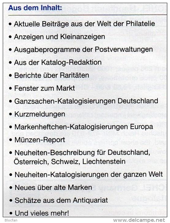 MICHEL Briefmarken Rundschau 10/2014 Sowie 10/2014 Plus Neu 11€ New Stamp Of The World Catalogue And Magacine Of Germany - Alemán