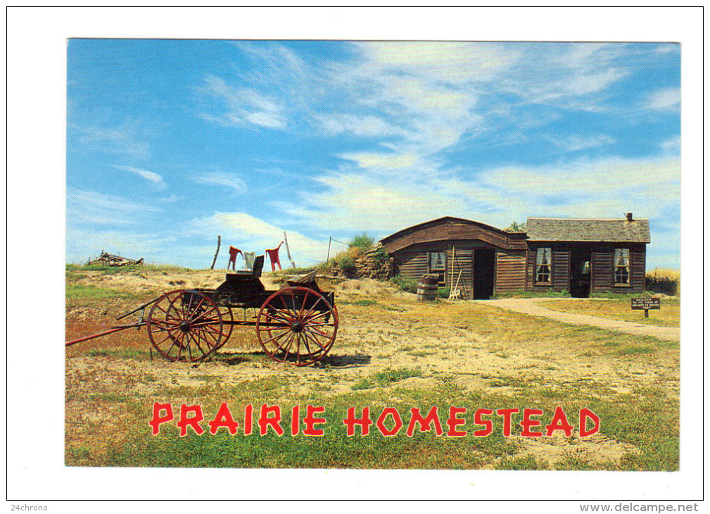 Etats Unis: Prairie Homestead Historic Site, Interior, South Dakota (14-3583) - Etats-Unis