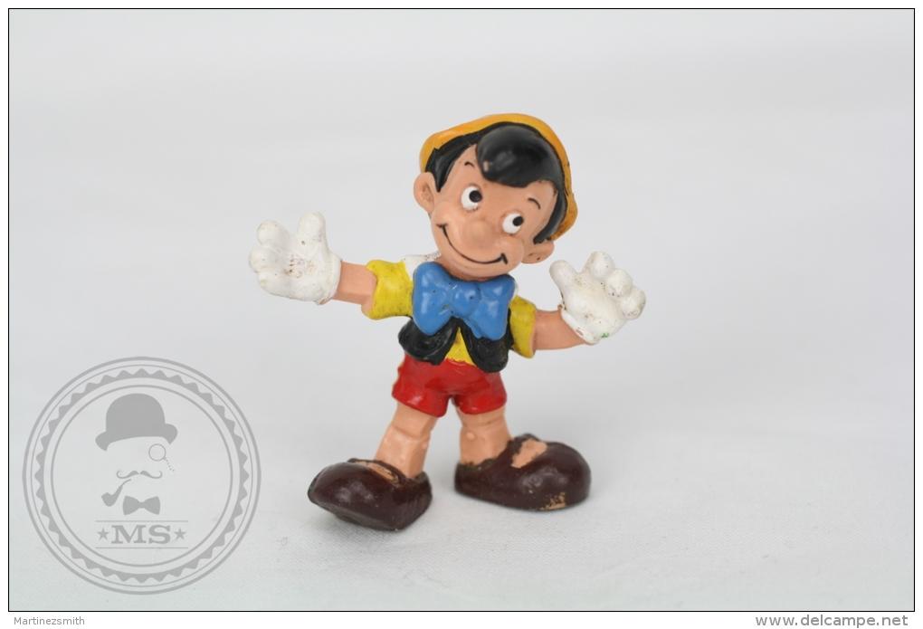 Vintage Disney Pinocchio Bullyland Hand Painted PVC Figure - Germany - Disney