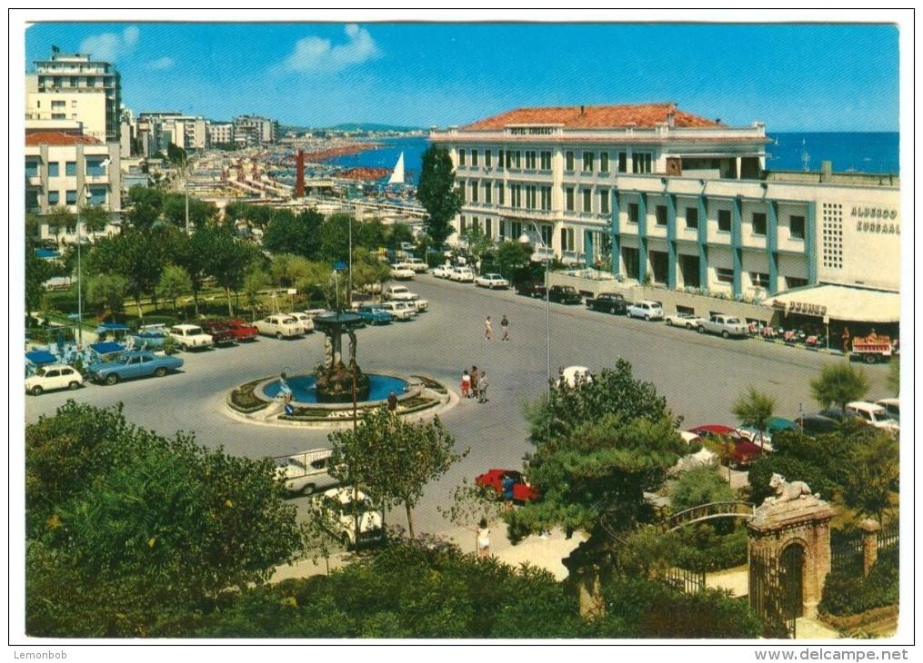 Italy, CATTOLICA, Piazza I Maggio, 1960s Unused Postcard [14166] - Rimini