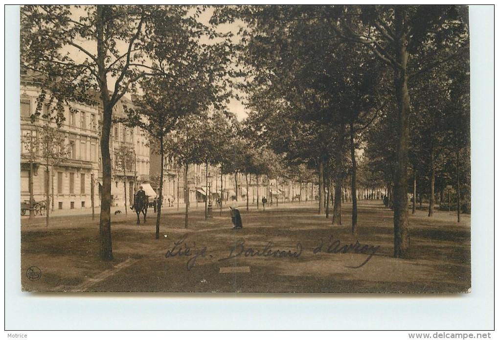 LIEGE - Boulevard D'Avroy. - Liege