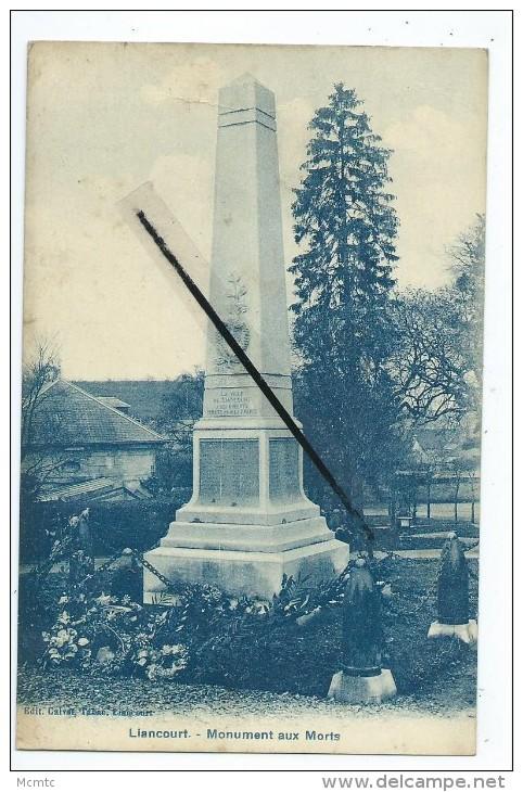 CPA - Liancourt - Monument Aux Morts - Liancourt