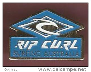 39213-pin's. Surf .Rip Curl.australie. - Ski Nautique