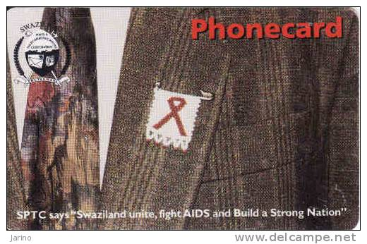 Swaziland, Phonecard, Chip, AIDS, SIDA - Swaziland