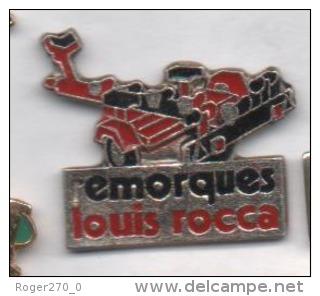 Matériel , Remorque Louis Rocca - Pins