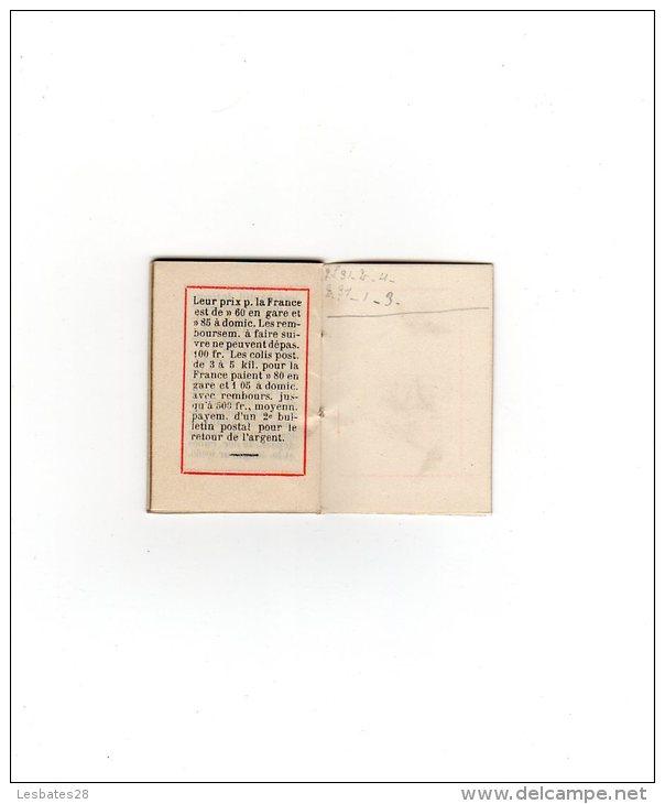 CALENDRIERS AGENDA PETIT FORMAT  CALENDRIER 1898  IMPRIMERIE  LIBRAIRIE PAPETERIE  Journaux  SALLE  PARIS  Bel état - Petit Format : ...-1900