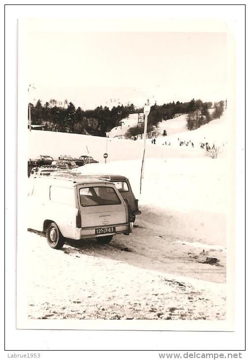 Voiture Peugeot 404- Photo Format 12.6x 8.9-(A.3596) - Automobile