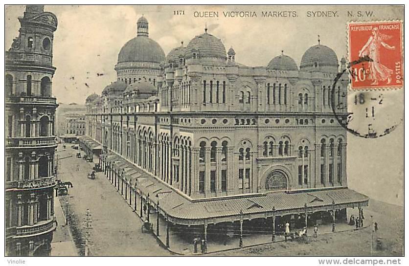 Réf : PO-14 - 973 :   SYDNEY QUEEN VICTORIA MARKETS - Sydney