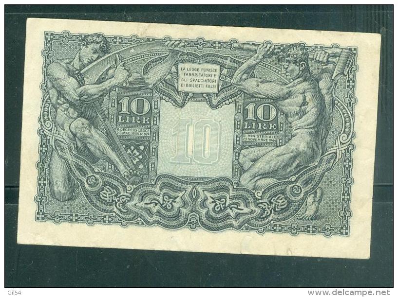 ITALY 10 LIRE - Laurabil 1508 - Italia – 10 Lire