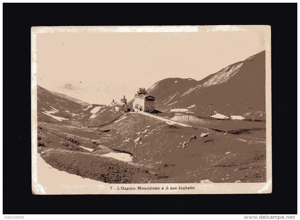 Valle D´Aosta - La Thuile - L´Ospizio Mauriziano E Il Suo Laghetto.  No Viaggiata - Italia