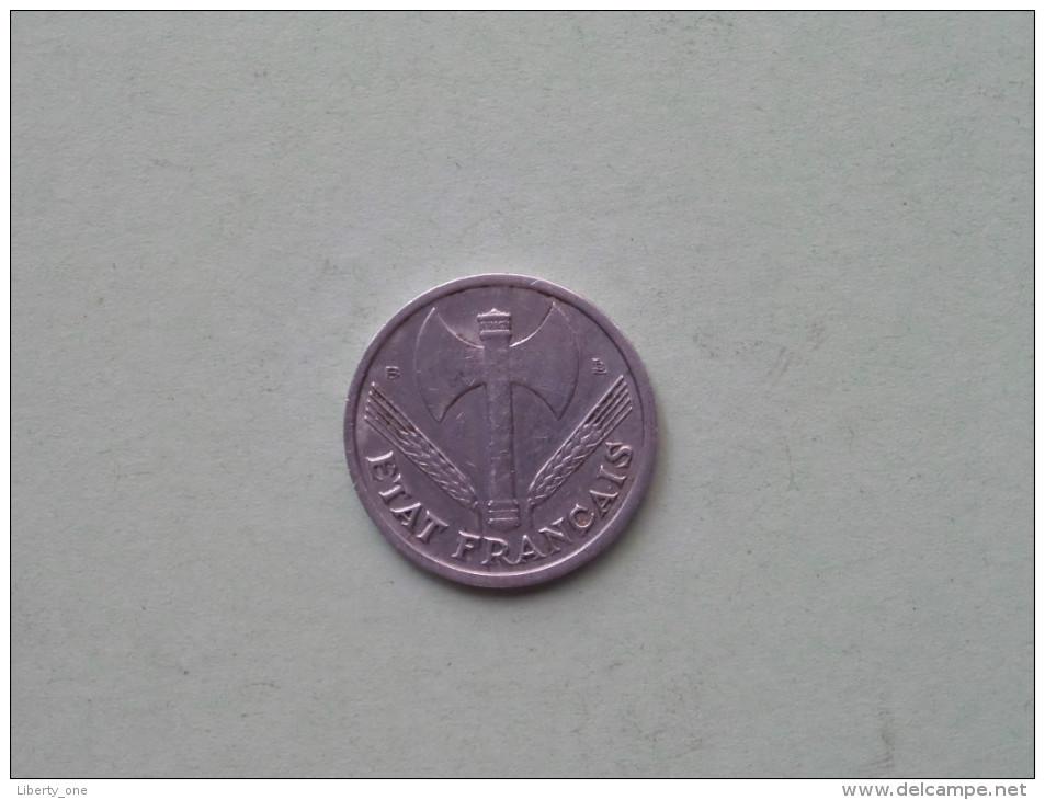 1944 B - 1 Franc / KM 902.2 ( Uncleaned - Details Zie Foto´s ) ! - H. 1 Franc