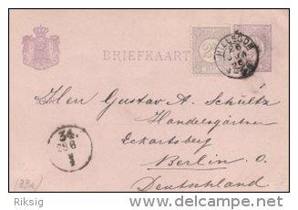 Briefkaarte - Uprated Postal Stationery.   S-1710 - Postal Stationery