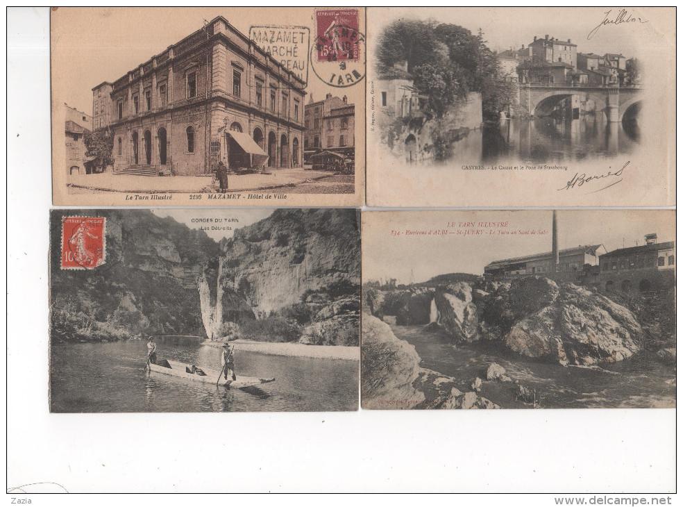 LD81 / Lot De 360 Cpa,cpsm,cpm Du Tarn (voir Descriptif) - Cartes Postales