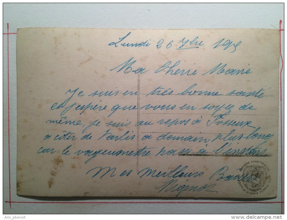 Guerre De 1914, Dans Les Tranchées, Nous ! Nous Ne Bouffons Pas De Pain K.K.soldat De Cahors - Guerra 1914-18