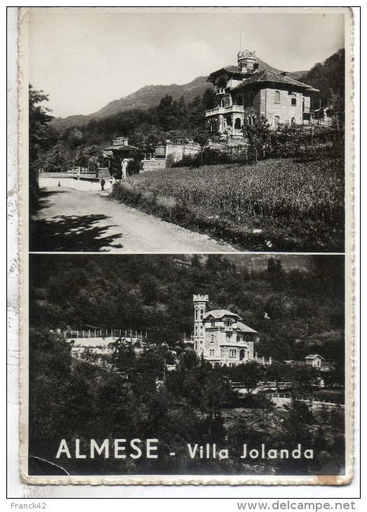Italie. Almese. Villa Jolanda. Etat Moyen - Other Cities